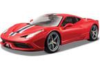 Bburago 1:18 Ferrari 458 červená