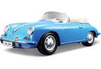 Bburago 1:18 Porsche 356B Cabriolet (1961)modrá