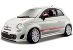 Kovový model auta Bburago 1:24 Abarth 500 esseesse