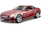 Kovový model auta Bburago 1:24 Plus Mercedes-Benz SL 500 Hardtop