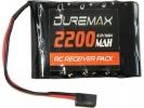 DUREMAX akumulátor NiMH 6.0V 2200mAh RX plochý