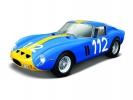 Ferrari Racing 250 GTO 1:24 modrá