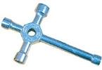 Klíč křížový 4-cestný 5.5/7/8/10mm