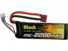 LiPol Black Magic 11.1V 2200mAh 25C Deans