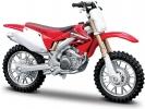 Model motocyklu Bburago Honda CRF450R 1:18