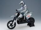 Motorka M5 Cross Brushless EP Plug & Play stříbrná