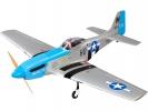 P-51D Mustang 20cc 1.7m ARF modrý