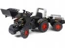 Šlapací traktor Farm King s nakladačem a vlečkou