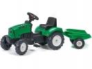 Šlapací traktor Lander s vlečkou Z160X s otevírací kapotou zelen