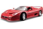 Bburago 1:18 Ferrari F50 červená