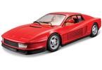 Bburago 1:24 Ferrari Testarossa červená