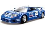 Bburago 1:24 Race Bugatti EB 110 Le Mans 1994