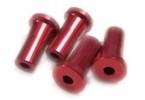 Distanční podložka 25 mm pro M5 Červený elox