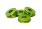 Distanční podložka 5 mm pro M6 Zelený elox