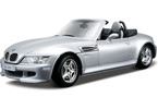 Kovový model auta Bburago 1:24 BMW M Roadster