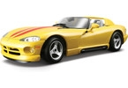 Kovový model auta Bburago 1:24 Dodge Viper RT/10