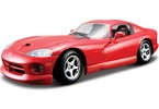 Kovový model auta Bburago 1:24 Dodge Viper GTS Coupe
