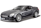 Kovový model auta Bburago 1:24 Plus Mercedes-Benz SL 65 AMG Hard