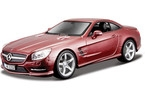 Kovový model auta Bburago 1:24 Plus Mercedes-Benz SL 500 Hardtop