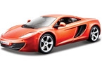 Kovový model auta Bburago 1:24 Plus McLaren MP4-12C