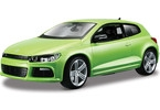 Kovový model auta Bburago 1:24 Plus VW Scirocco R