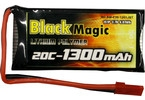 LiPol Black Magic 3.7V 1300mAh 20C JST.