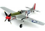 P-51D Mustang Ultra Micro AS3X RTF Mode 2