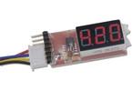 Pro-Peak tester LiPol/LiFe baterií