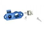 SEC Tankovací ventil + vypínač 4A v jednom z ALU