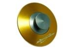 SEC Tankovací ventil ozdobný ZLATÝ elox
