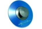 SEC Tankovací ventil ozdobný MODRÝ elox