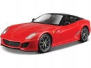Bburago Ferrari 599 GTO 1:24 červená