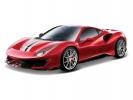 Bburago Ferrari 488 Pista 1:24 červená