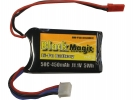 Black Magic LiPol 11.1V 450mAh 50C JST