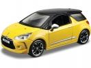 Citroën DS3 1:32 žlutá