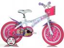 """Dětské kolo 16"""" Barbie s košíkem"""