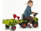 Dětské odrážedlo Baby Claas Axos s vlečkou
