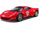 Ferrari 458 Challenge 1:24 červená