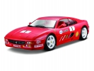 Ferrari F355 Challenge 1:24 červená