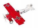 Fokker D.VII 1.2m ARF červený