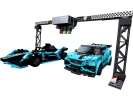 Formula E Panasonic Jaguar Racing GEN2 car & Jaguar I-PACE eTROP