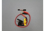 Nabíjecí kabel s banánky - Glow,Rx,Tx