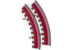 New Track - Krajnice s mantinely stand. oblouk (2)