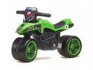 Odrážedlo Moto Racing Team zelené