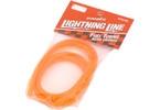 Palivová hadička fluorescentní - oranžová 1m