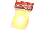 Palivová hadička fluorescentní - žlutá 1m