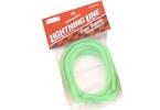 Palivová hadička fluorescentní - zelená 1m
