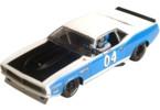 Plymouth Barracuda bílo/modrý