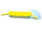 Spirálová silik. hadička pro metyl fluor. žlutá
