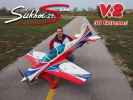 Sukhoi 29S 2.2m V2 3D Extreme bílý.